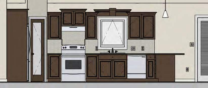 A Kitchen designed by Abe Neufeld using Chief Architect Software.