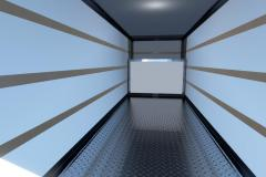 Rendering of an empty U-Haul space