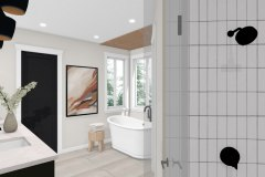Modern Organic Bathroom