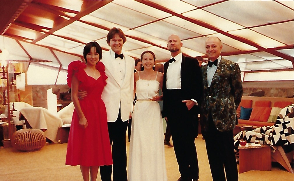 Michael Rust attending a weekly formal at The Frank Lloyd Wright School of Architecture at Taliesin West