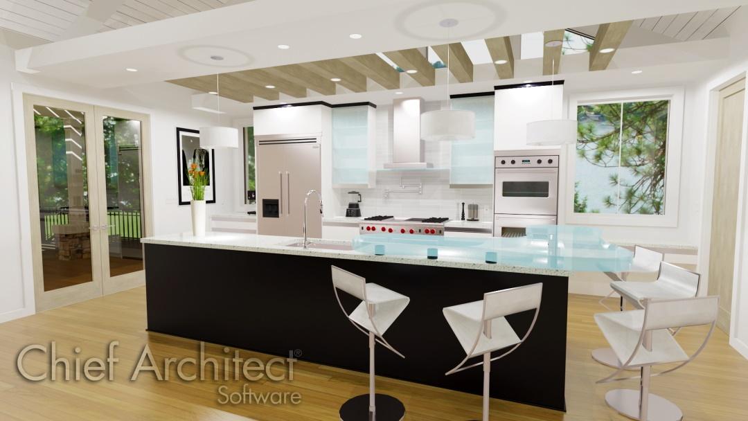Chief Architect Riverstone Kitchen