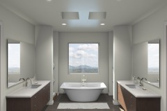 Bathroom Designed by Rene Rabbitt