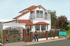 Spanish influence home in the Philippines.