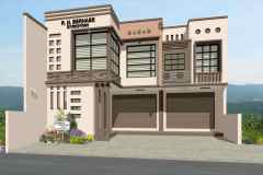 Residential home design in the Philippines.