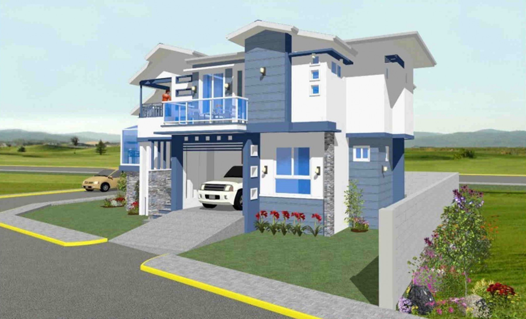 Rodante Bernabe's 2nd Place Residential Design