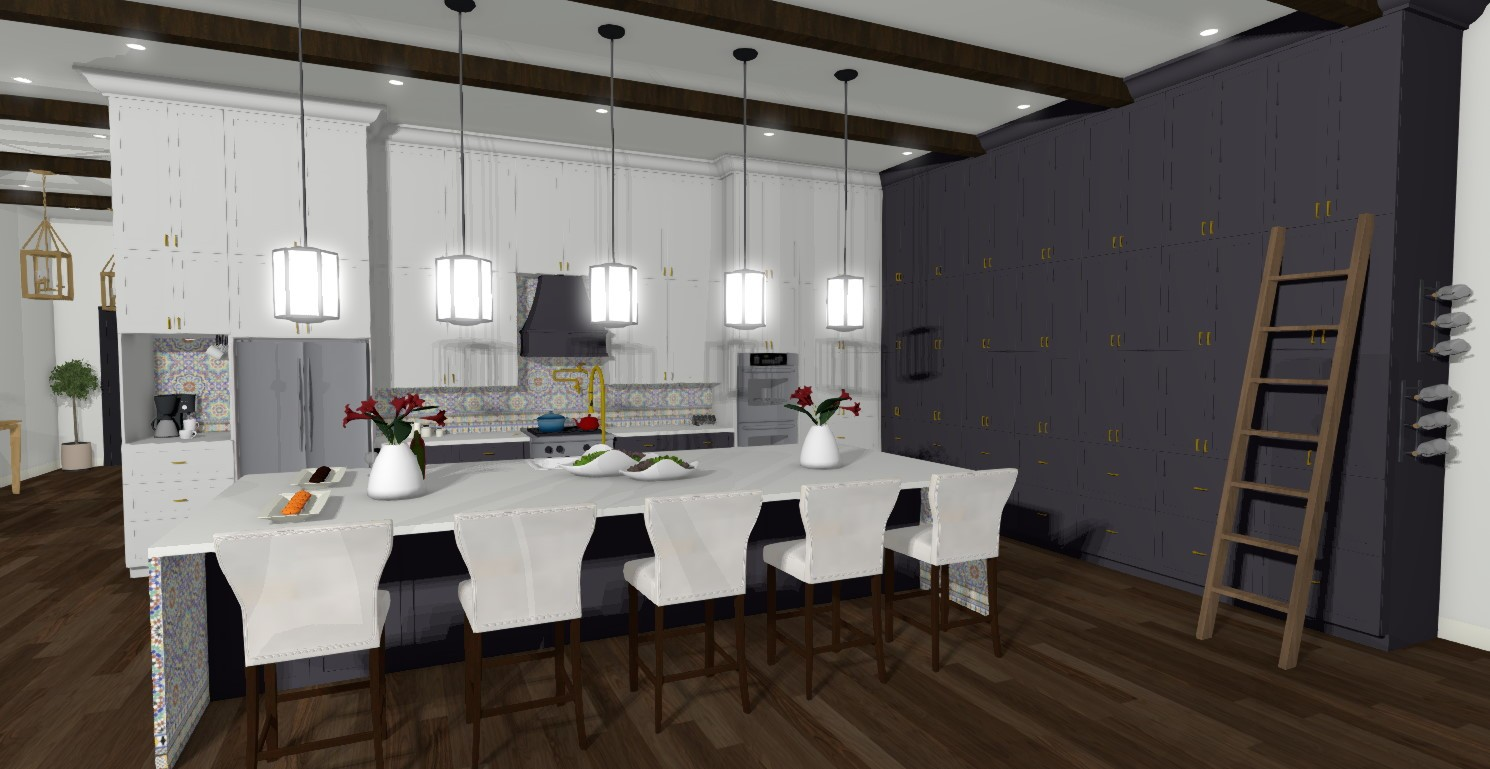 Samantha's 2nd place Kitchen design