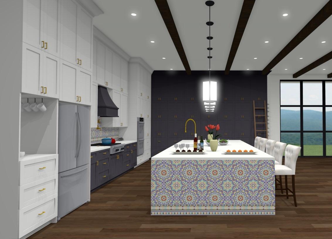 Samantha's 2nd place Kitchen design