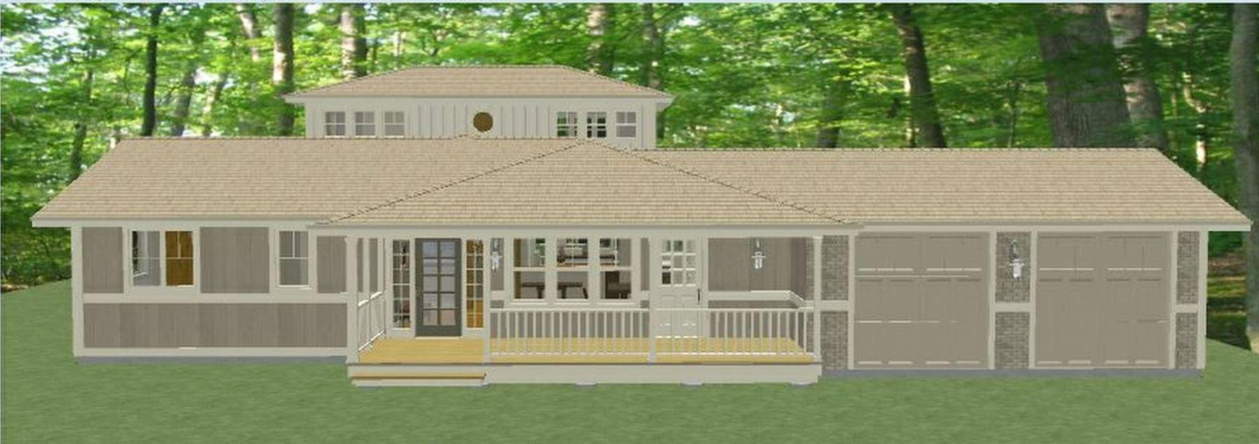 Lake Michigan Home Render- Option 2