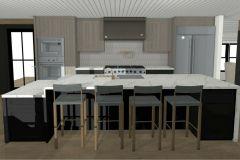 Modern Farmhouse kitchen remodel.