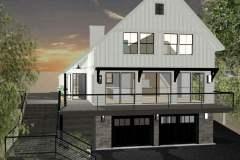 Modern Farmhouse exterior remodel.