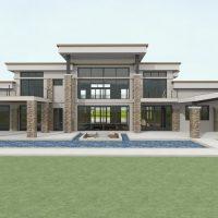 Scott Turner - Modern Home Design with Pool