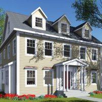 Scott Turner Home Design with Portico