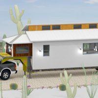 Clerestory Tiny Home Design