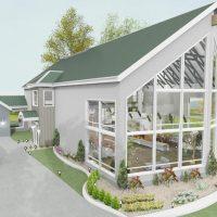 GLASS FARM HOUSE exterior