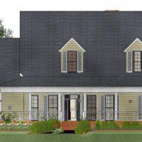 tulluah exterior home design