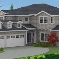 Christopher Anderson - Residential with single siding and dormers