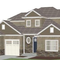 Christopher Anderson - Residential with single siding and white trim
