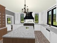 Monika Ross - Brown Accent Cabinets