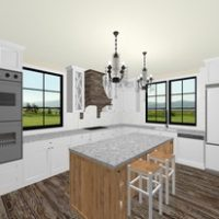 Monika Ross - Rustic Kitchen Design