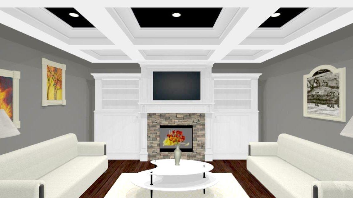 Justin Link-Living room
