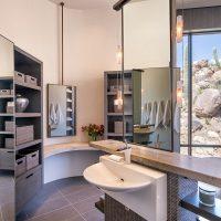 full height mirrors in en suite