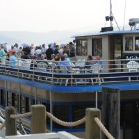 Chief Architect customers enjoying a lake cruise on Lake Coeur d'Alene in Idaho.