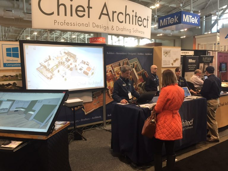 Chief Architect at the Remodeling Show, DeckExpo and JLC live 2017 in Nashville.