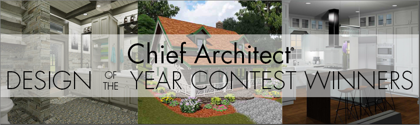 Chief Architect Design of the Year Contest winners