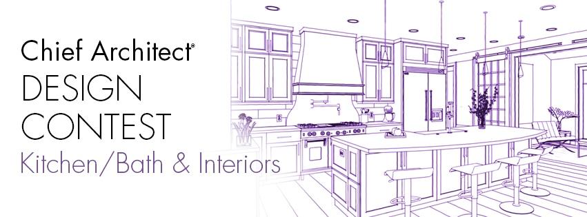 Chief Architect Kitchen, Bath and Interiors design contest