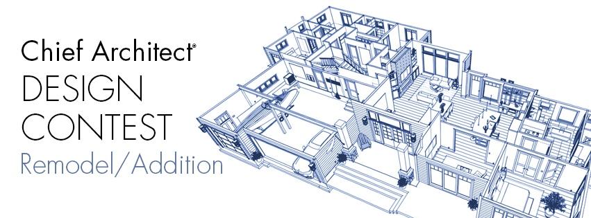 Chief Architect remodel, addition design contest.