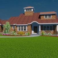 Home design created in Chief Architect software.