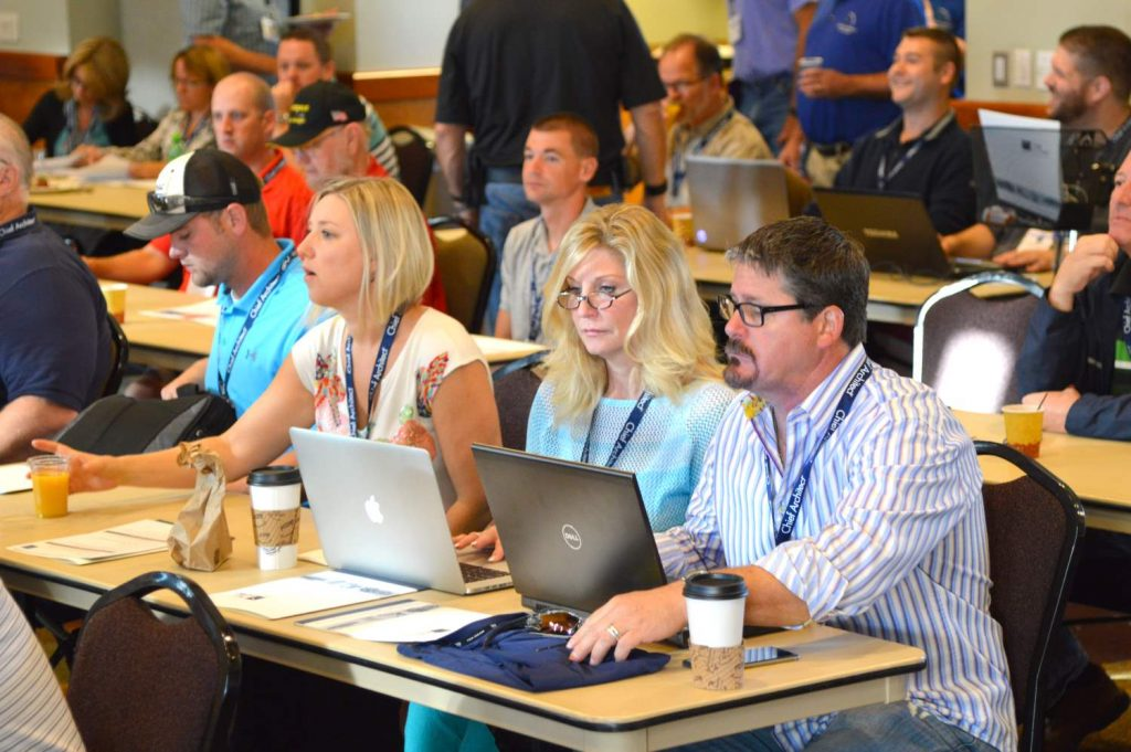 Chief Architect users gathered at the Chief Architect Academy learning more about the software.