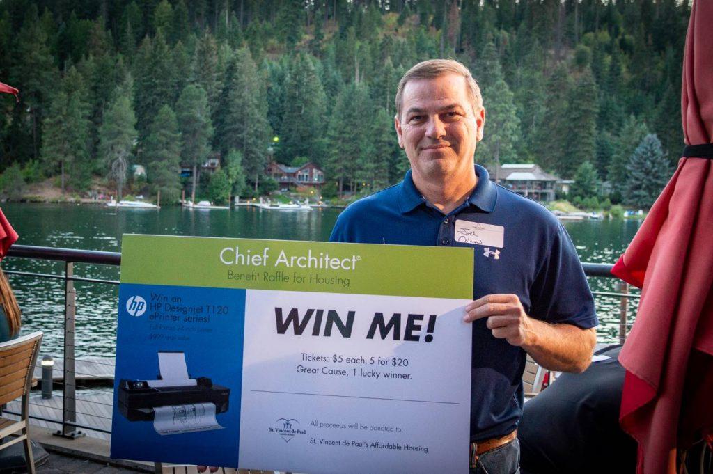 Chief Architect customer wins a printer.
