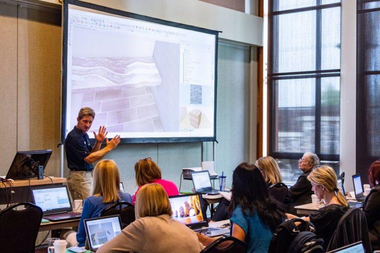 Scott Harris training a Chief Architect class.