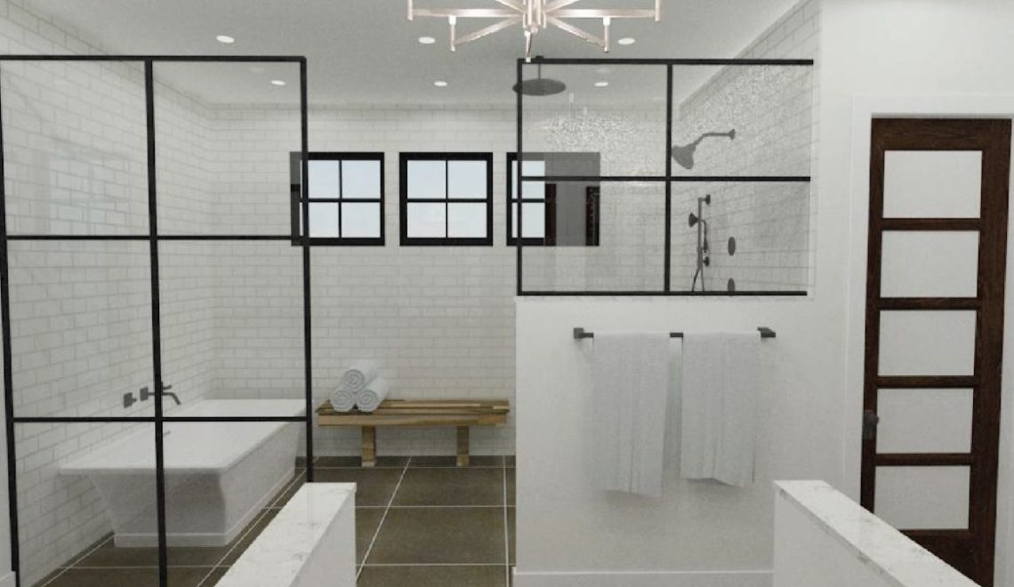 Winning Modern Farmhouse Bathroom Design