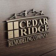 Cedar Ridge Remodeling Co Logo