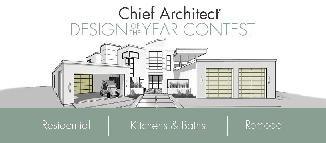 Chief Architect Design of the Year Contest rendering