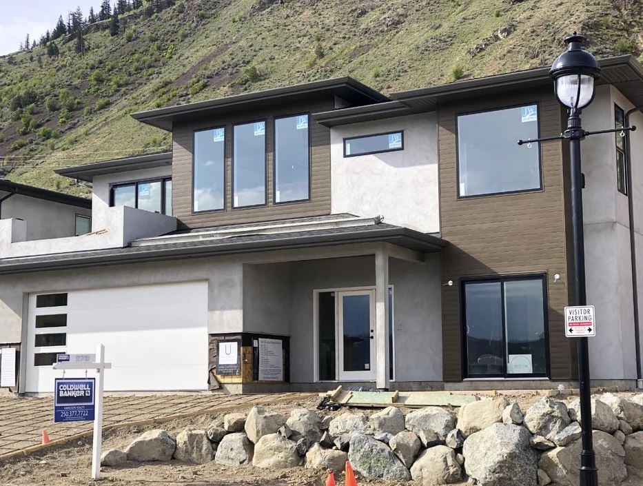 Completed Sillaro Place Home