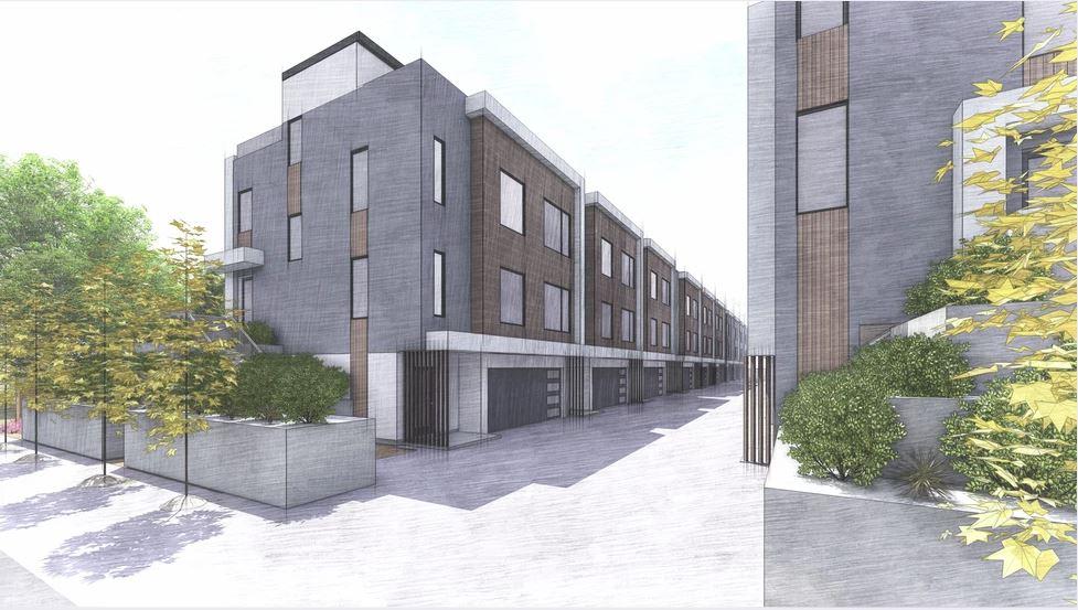 multi family housing sketch