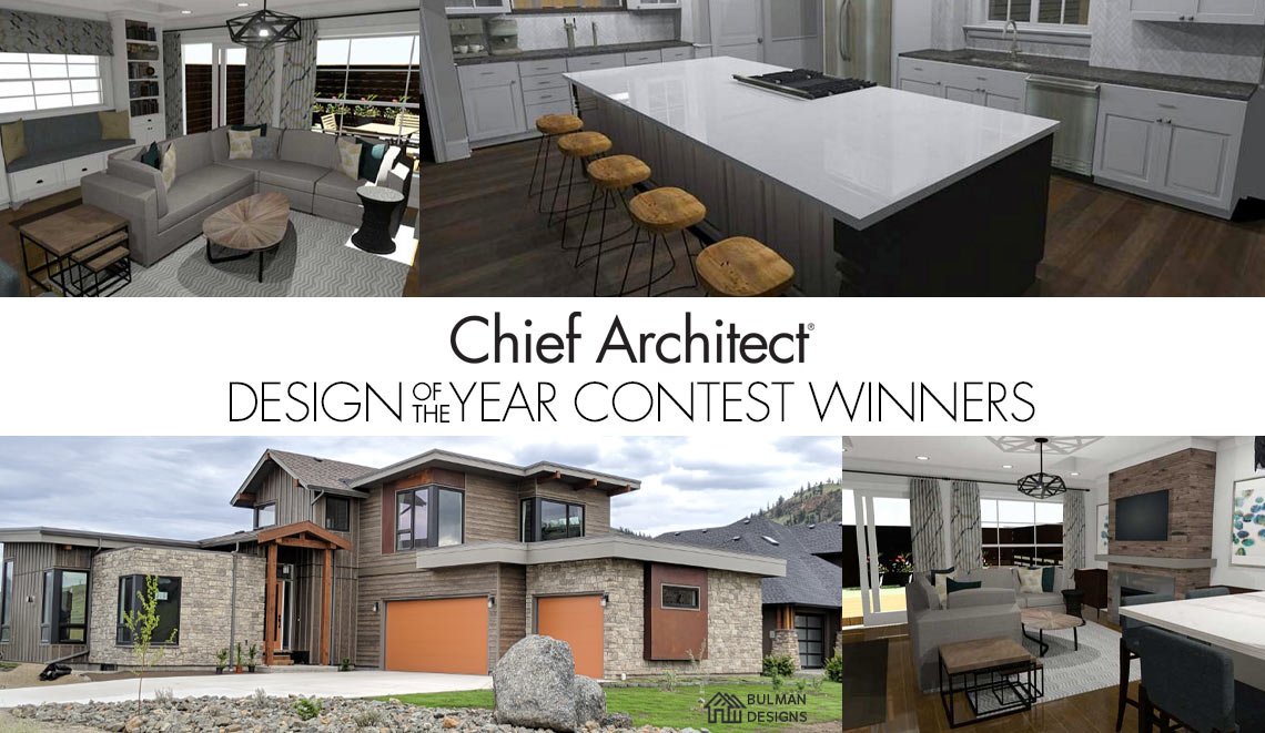 2019 Chief Architect Design of the Year Winners