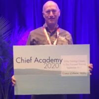 Brian Farris, winner of the Chief Architect User Event Raffle in Vegas