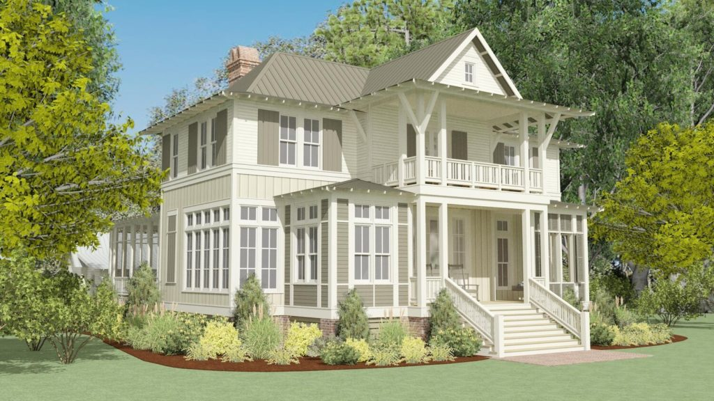 Lake + Land Studio's Winterville Residence
