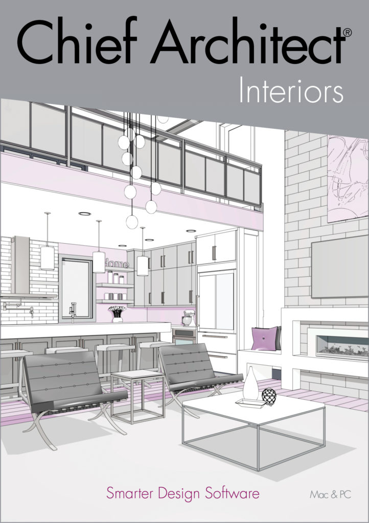 cover of chief architect interiors